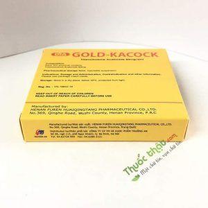 Gold Kacock - Hộp 5 Ống - Trị Viêm Da Cơ Toàn Thân