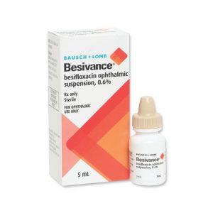 Thuốc Besivance - Lọ 5ml - Điều Trị Viêm Kết Mạc
