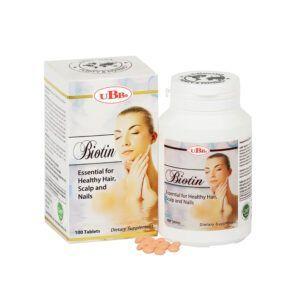 Biotin - Lọ 100 Viên - Bổ Sung Biotin Cho Cơ Thể