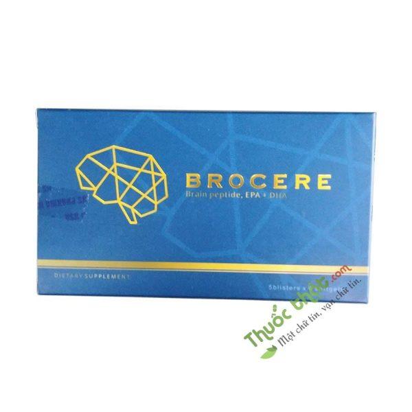 Brocere Hộp 5 Vỉ - Thực Phẩm Chức Năng Bổ não
