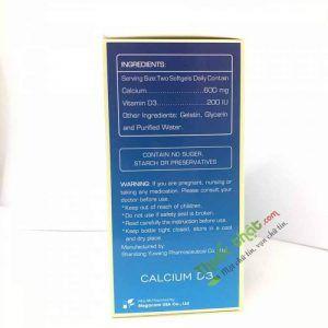 Calcium D3 Hộp 100 viên - Điều trị loãng xương