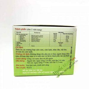 Cảm xuyên hương 10 vỉ x 10 viên- Điều trị cảm cúm nguồn gốc dược liệu