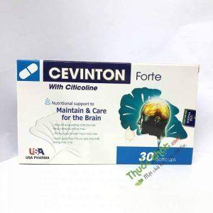 Cevinton Forte Hộp 30 Viên - Bổ Não, Bổ Huyết, Hoạt Huyết