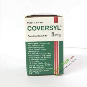 Coversyl 5 Lọ 30 viên - Điều trị bệnh tim mạch