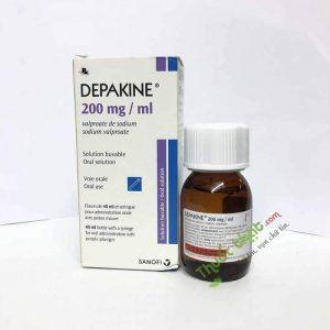 Thuốc Depakine 200mg/ml-Trị Co Giật Do Động Kinh