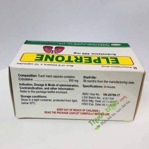 Thuốc Erdostein-Hộp 60 Viên- Điều Trị Bệnh Về Hô Hấp