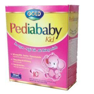 Pediababy Kid Hộp 20 Ống - Kích Thích Tiêu Hóa