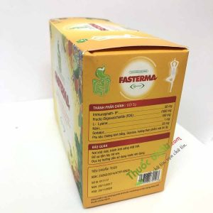Men tiêu hóa Fasterma - Hộp 20 gói