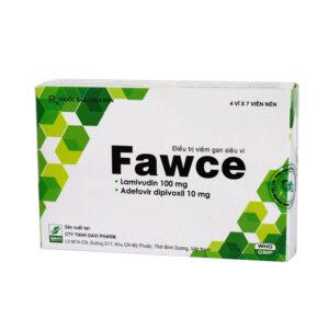 Fawce Hộp 28 viên - Điều trị viêm gan siêu vi B