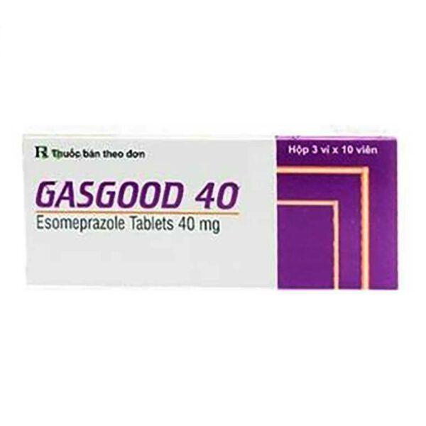 Thuốc Gasgood 40 - Hôp 30 Viên - Điều Trị Trào Ngược Dạ Dày