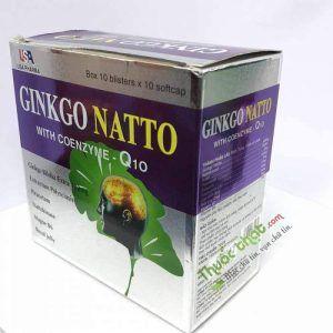 Ginkgo Natto Hộp 100 Viên - Tăng Cường Tuần Hoàn Não