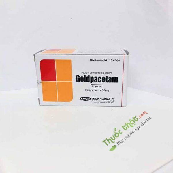 Thuốc Goldpacetam 400mg- Điều Trị Rối Loạn Tâm Thần