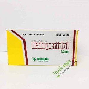 THUỐC HALOPERIDOL 1,5 MG (Danapha)-Điều trị bệnh tâm thần phân liệt