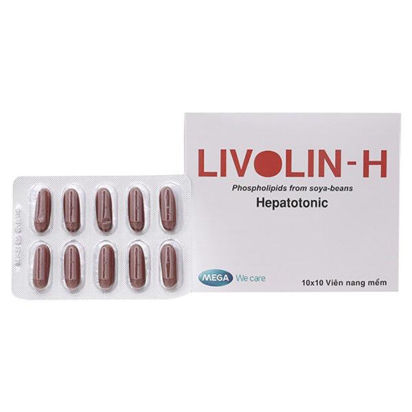 Livolin-H Hộp 100 viên - Bảo vệ tế bào gan