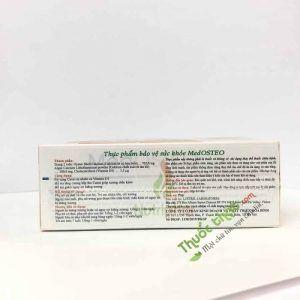 Medosteo Hộp 60 Viên - Bổ Sung Calci Và Vitamin D3