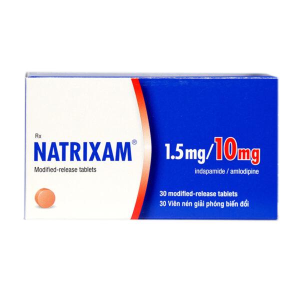 Natrixam Hộp 30 Viên - Điều Trị Tăng Huyết Áp
