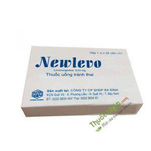 Thuốc Newlevo - Tránh thai hằng ngày