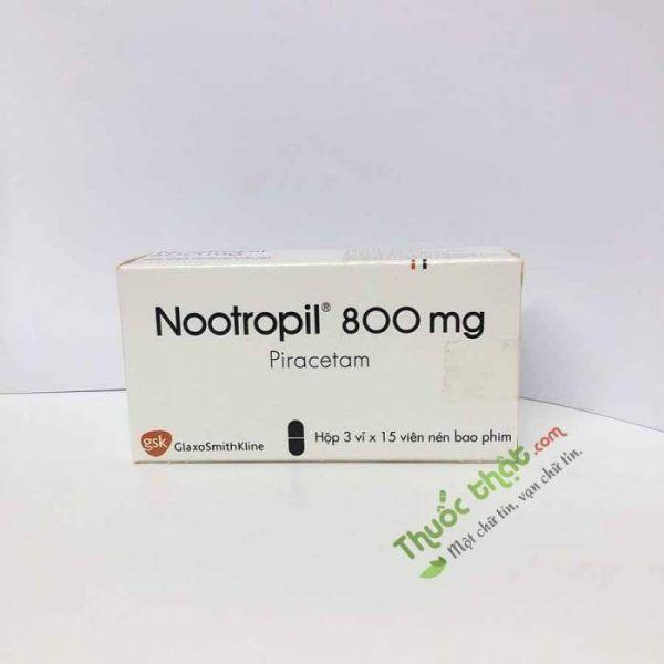 Thuốc Nootropil 800mg-Điều Trị Bệnh Về Não