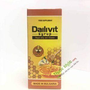Siro Dailivit - Bổ sung các vitamin nhóm B - Hộp 1 chai
