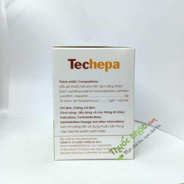 Techepa Hộp 14 Gói - Điều Trị Chứng Tăng Amoniac Máu
