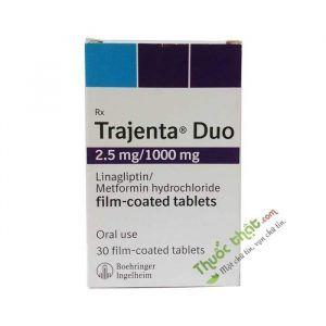 Trajenta Duo 2.5mg/1000mg Thuốc điều trị tiểu đường