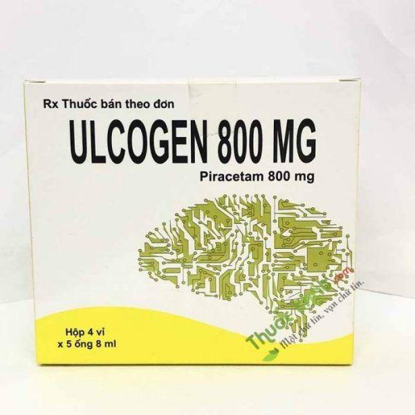 Thuốc Ulcogen 800mg-Trị Suy Giảm Nhận Thức, Chóng Mặt