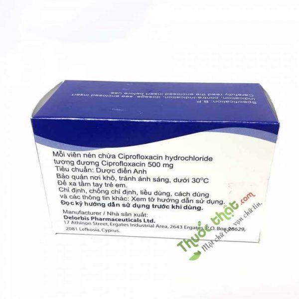 Thuốc Viprolox 500mg-Điều Trị Nhiễm Khuẩn Hô Hấp