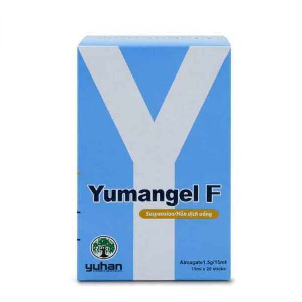 Thuốc Yumangel F - Hộp 20 Gói - Điều Trị Viêm Dạ Dày