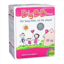 BigBB Plus - Giảm viêm mũi họng cho trẻ em