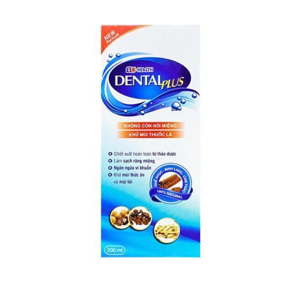 Nước Súc Miệng 4U-HEALTH Dental Plus - Làm Sạch Răng Miệng