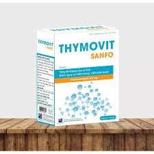 Thymovit Sanfo - Tăng Sức Đề Kháng, Giảm Viêm Họng