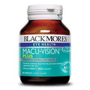 BLACKMORES MACU-VISON PLUS - VIÊN UỐNG BẢO VỆ SỨC KHỎE CHO MẮT