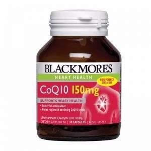 Blackmores CoQ10 150mg - Viên Uống Bổ Tim Mạch  (30 viên)