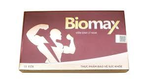 Biomax - Viên Uống Tăng Cường Sinh Lý Nam