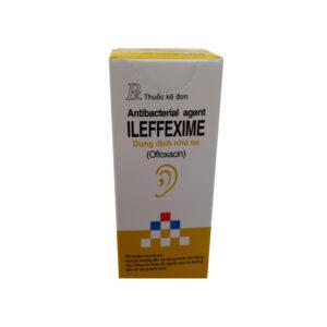 Ileffexime Lọ 5ml - Thuốc điều trị viêm tai, nhiễm trùng tai