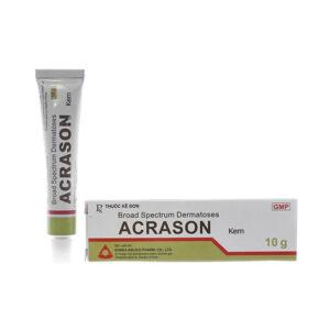 Acrason Cream 10gr - Kem bôi trị viêm da