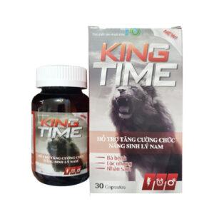 King Time Hộp 30 viên - Bổ thận tráng dương, sinh tinh