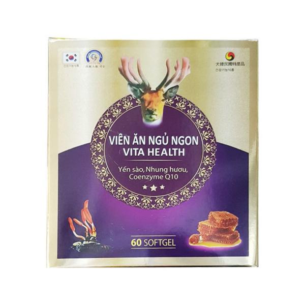 Viên Ăn Ngủ Ngon Vita Health Hộp 60 Viên
