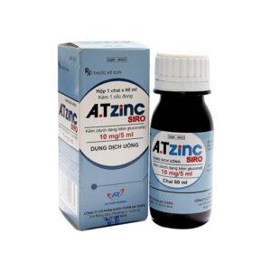 ATISYRUP ZINC Hộp 1 chai 60 ml