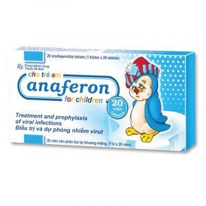 Anaferon Hộp 20 viên - Điều trị nhiễm virus