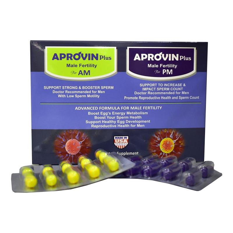 Aprovin Plus Hộp 60 Viên - Tăng Số Lượng, Chất Lượng Tinh Trùng