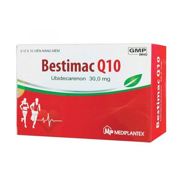 Thuốc Bestimac Q10 - Hộp 60 Viên - Trị Bệnh Cơ Tim