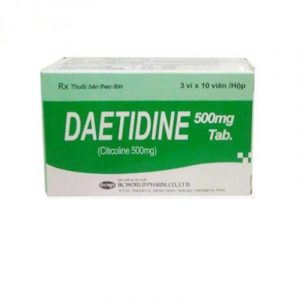 Daetidine 500mg Hộp 30 Viên - Cải Thiện Trí Nhớ