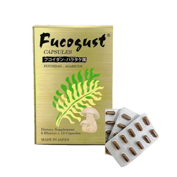 Fucogust Hộp 60 Viên - Giảm tác Hại Hóa Trị, Xạ Trị