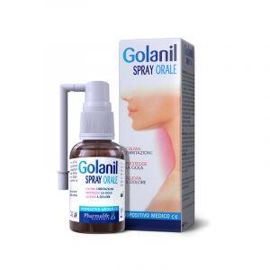 Golanil Spray Orale 30ml - Bảo vệ niêm mạc hầu họng