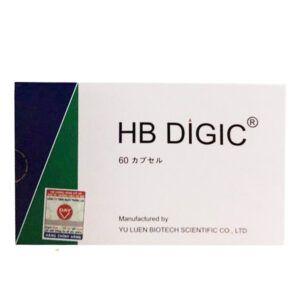 HB Digic - Hộp 60 Viên - Tăng Cường Chức Năng Gan