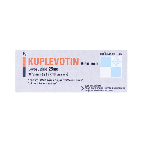 Kuplevotin Hộp 30 Viên - Điều Trị Bệnh Tâm Thần Phân Liệt