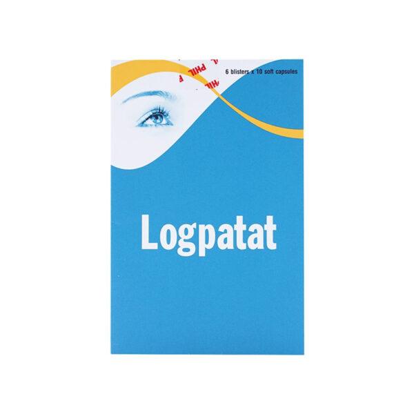 Thuốc Logpatat 25mg - Hộp 60 viên - Trị Bệnh Lý Về Mắt