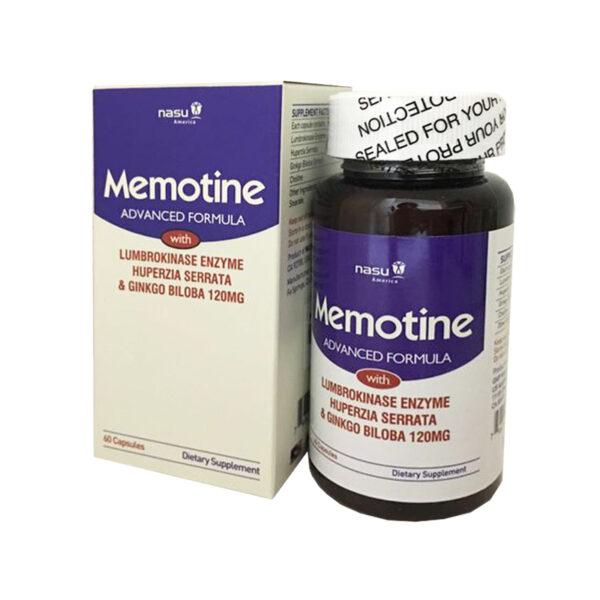 Memotine Hộp 60 Viên - Hỗ Trợ Điều Trị Rối Loạn Tiền Đình
