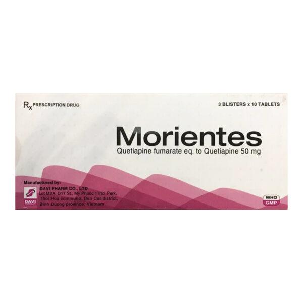 Thuốc Morientes 50mg - Hộp 30 Viên - Điều Trị Trầm Cảm